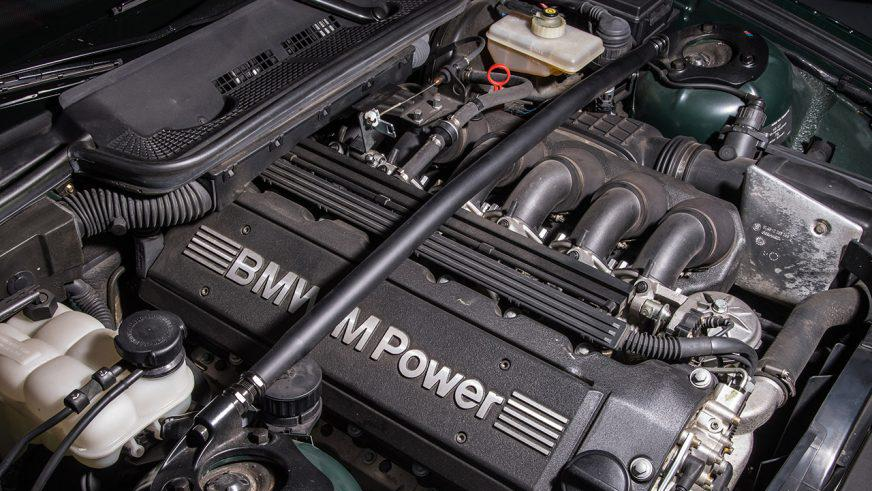 BMW M3 - 1996 - двигатель