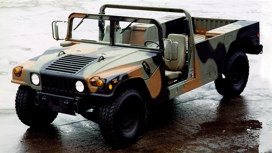 1989 год — HMMWV M1097 Base Model