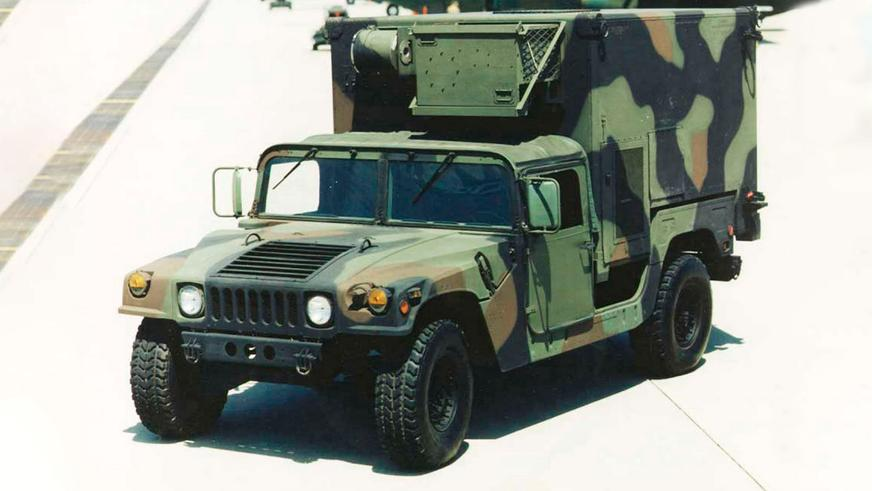 1984 год — HMMWV M1037 Shelter Carrier