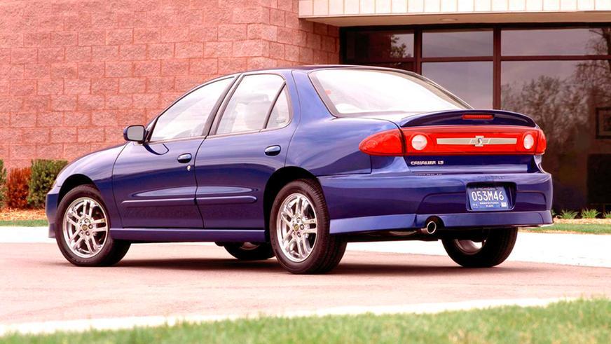 2003 год — Chevrolet Cavalier