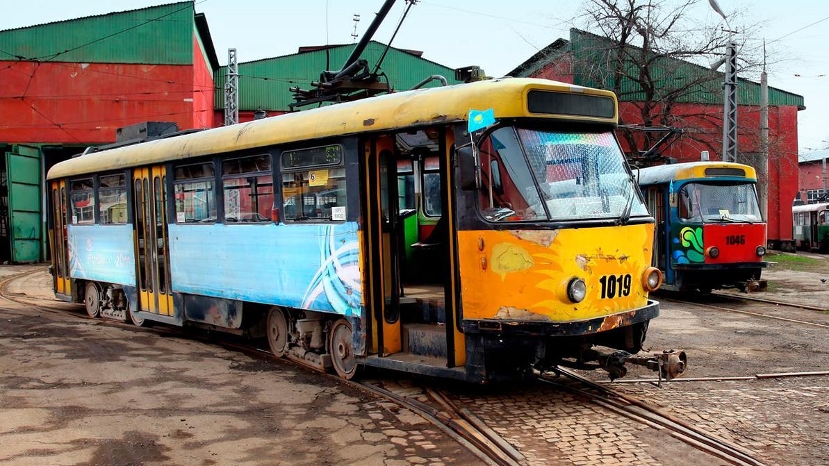Трамваи в Алматы уберут 31 октября