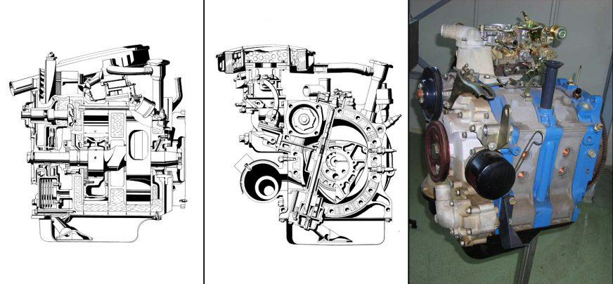 ВАЗ-2101 «Жигули» - двигатель