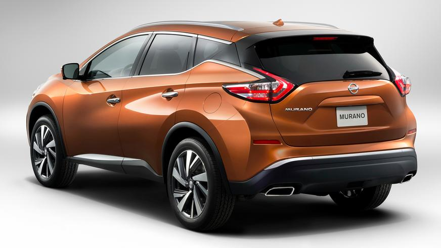 2015 год — Nissan Murano третьего поколения