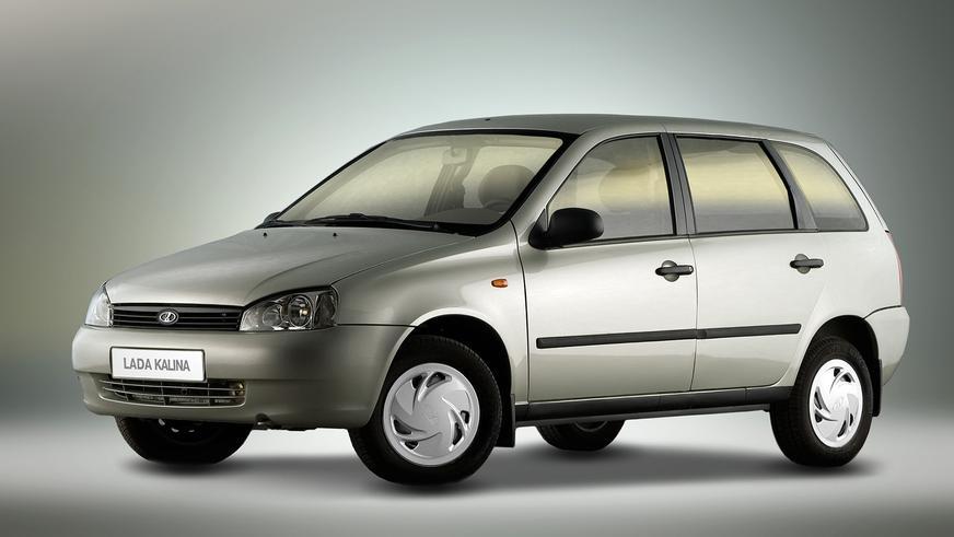 2009 год — LADA Kalina универсал (ВАЗ-1117) первого поколения
