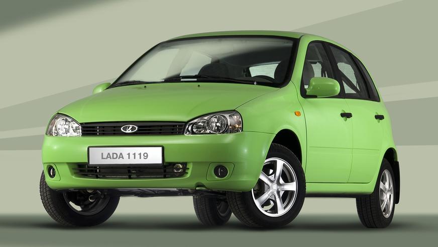 2006 год — LADA Kalina хэтчбек (ВАЗ-1119) первого поколения