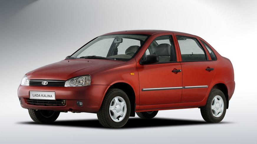 2004 год — LADA Kalina седан (ВАЗ-1118) первого поколения