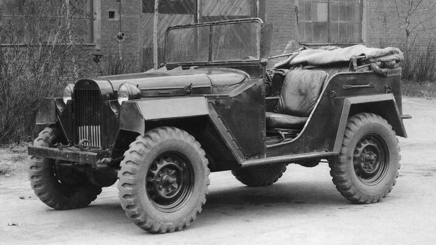 1943 год — ГАЗ-67
