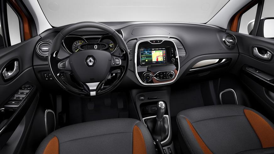 2013 год — Renault Captur
