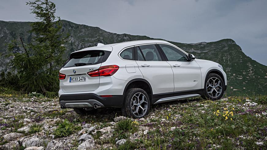2015 год — BMW X1 (F48) второго поколения