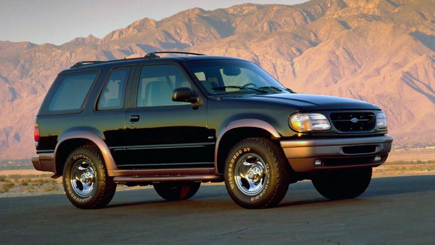 1994 год — Ford Explorer Sport второго поколения