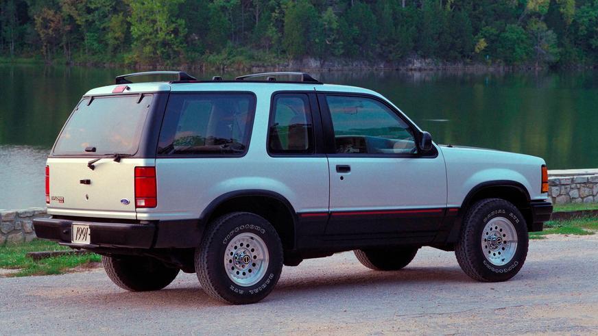 1990 год — Ford Explorer Sport первого поколения