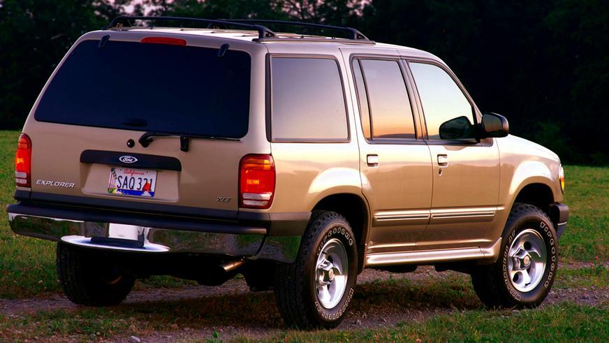 1994 год — Ford Explorer второго поколения