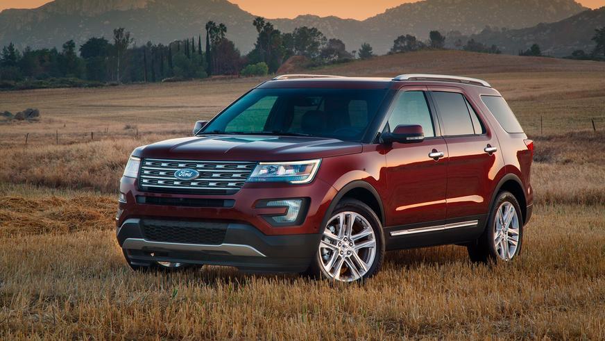 2015 год — Ford Explorer пятого поколения после рестайлинга