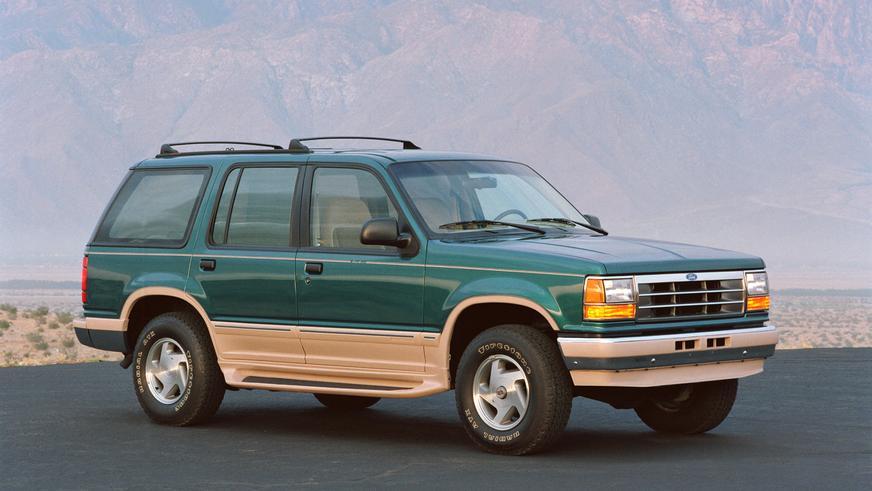1990 год — Ford Explorer первого поколения