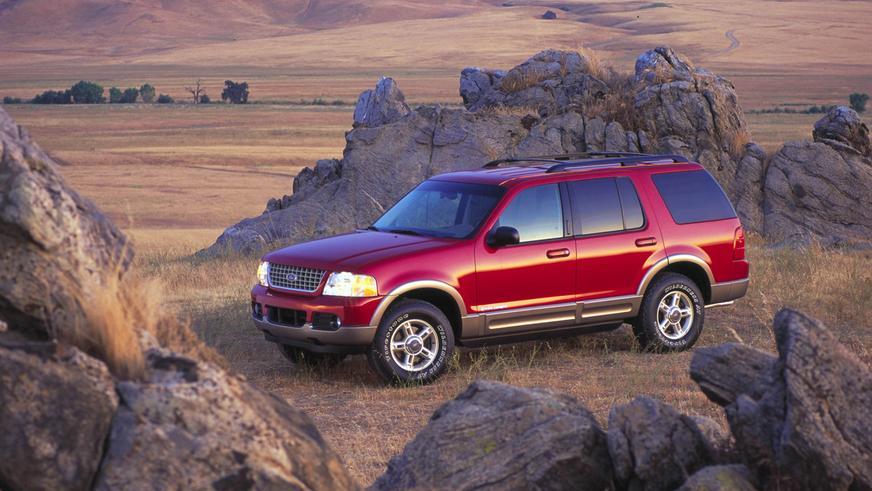 2002 год — Ford Explorer третьего поколения