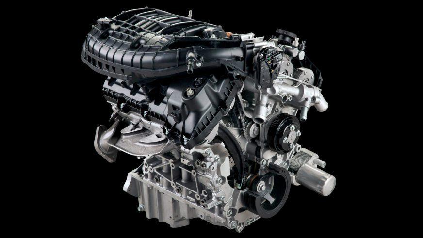 Ford Explorer - 2016 - двигатель