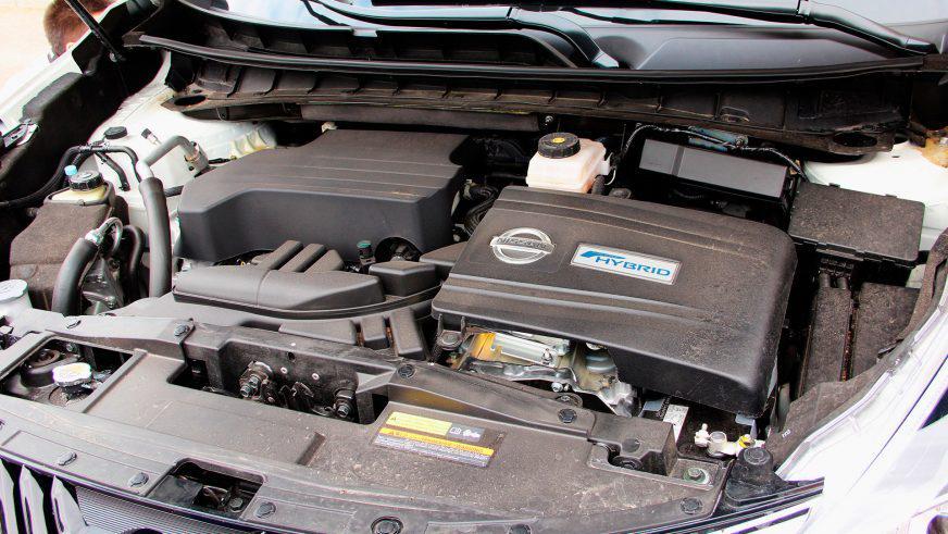 Nissan Murano - 2016 - двигатель