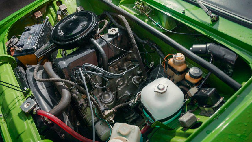 ВАЗ-2106 «Жигули» - 1982 - двигатель