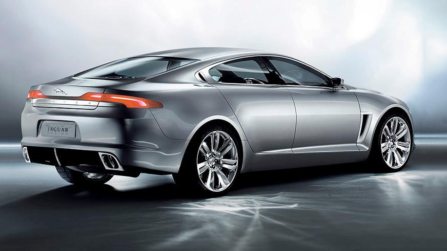 2007 год — Jaguar C-XF Concept