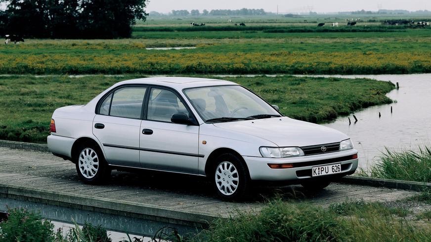 1991 жыл — Toyota Corolla-ның жетінші буыны