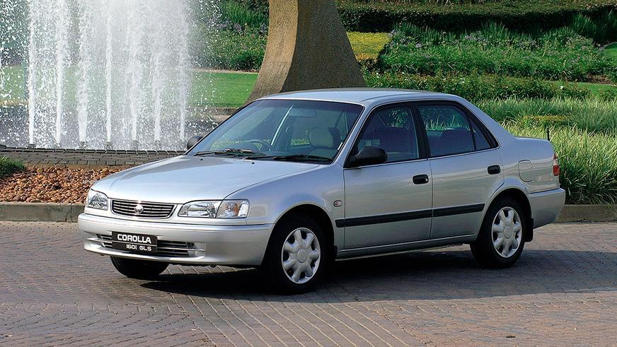1995 жыл — Toyota Corolla-ның сегізінші буыны