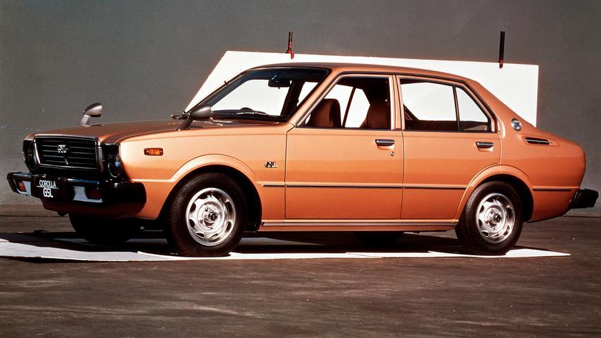 1974 жыл — Toyota Corolla-ның үшінші буыны