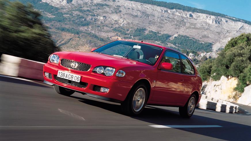 1999 жыл — Toyota Corolla-ның Еуропаға арналған сегізінші буыны (рестайлинг)