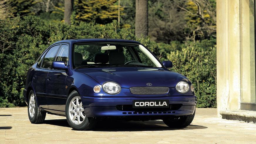 1997 жыл — Toyota Corolla-ның Еуропаға арналған сегізінші буыны