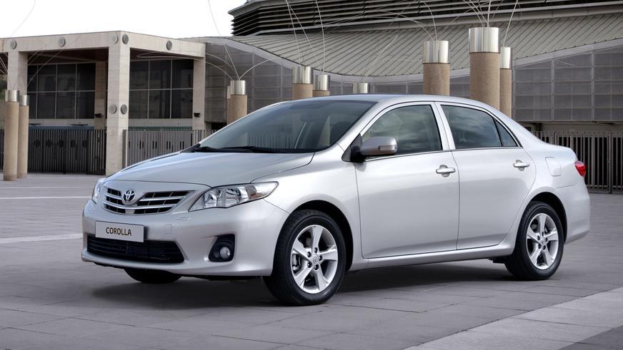 2010 жыл — Toyota Corolla-ның оныншы буыны (рестайлинг)