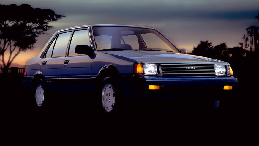 1983 жыл — Toyota Corolla-ның бесінші буыны