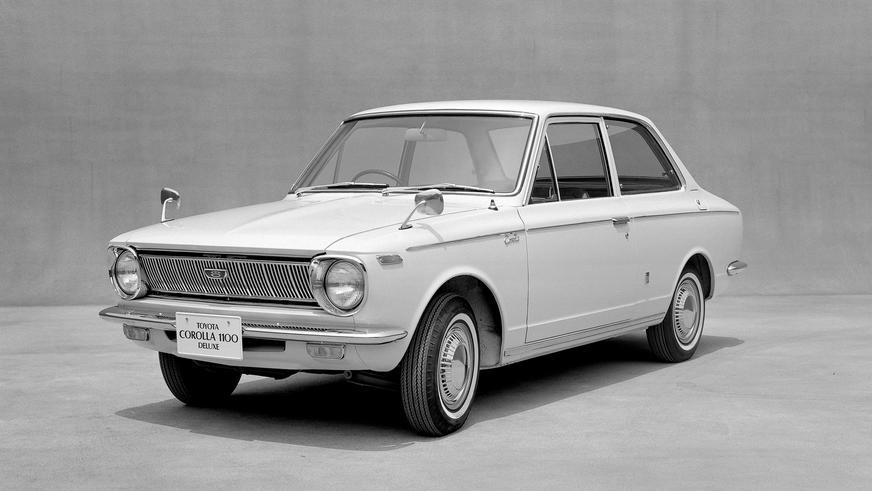 1966 жыл — Toyota Corolla-ның алғашқы буыны