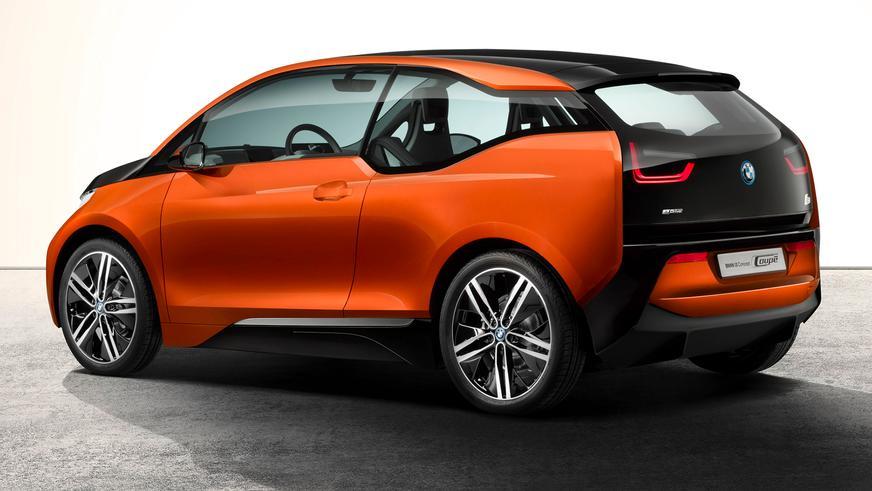 2012 год — BMW i3 Concept Coupé