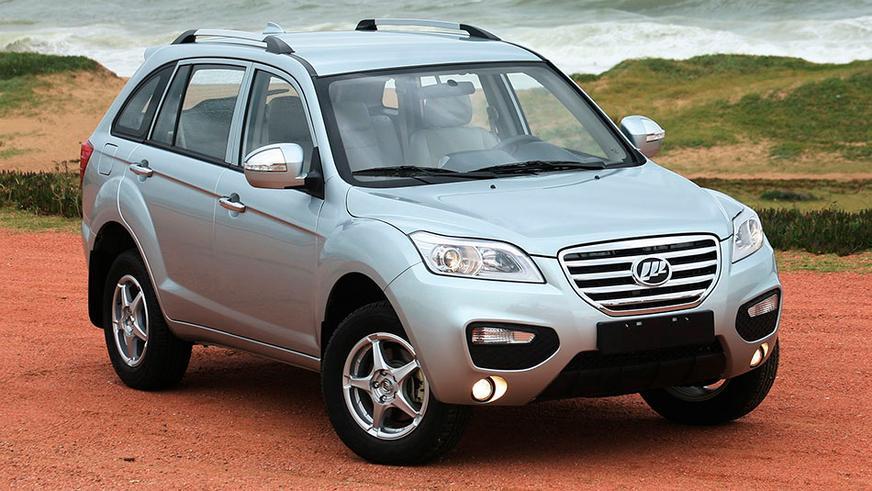 2011 год — Lifan X60