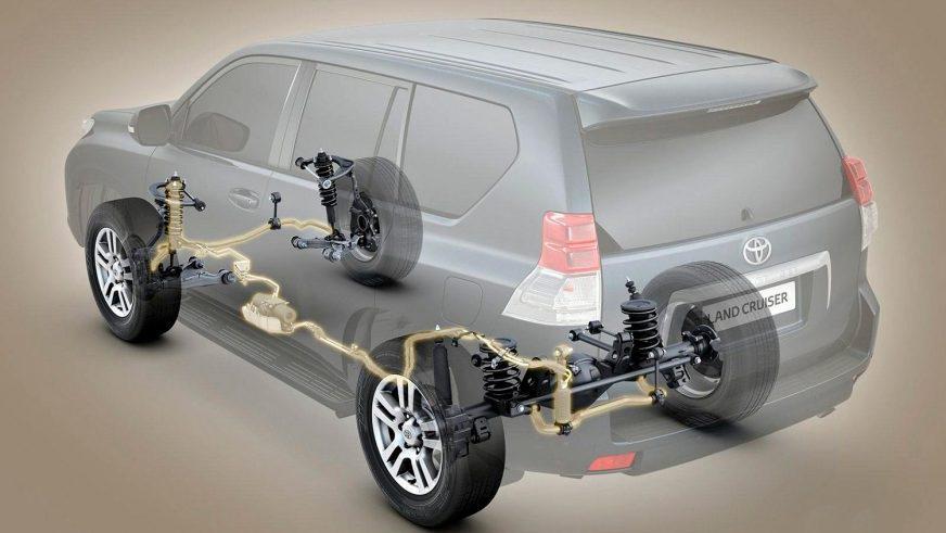 Toyota Land Cruiser Prado 150 - 2013 - шасси