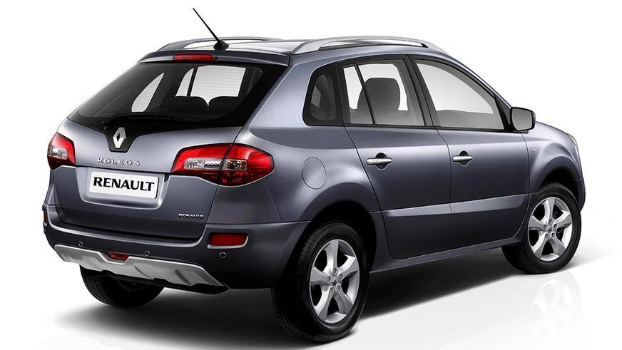 2008 год — Renault Koleos первого поколения