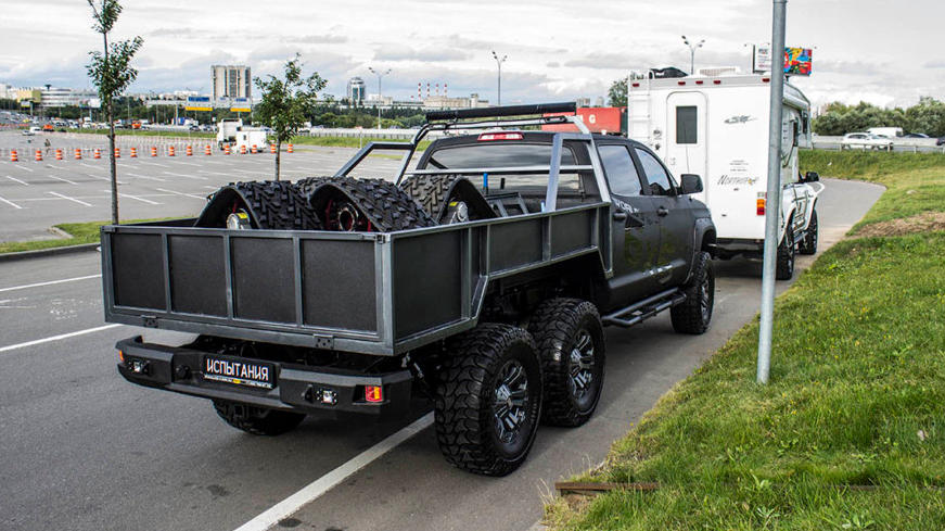 Toyota Tundra Hercules - Moscow Off-Road Show 2017
