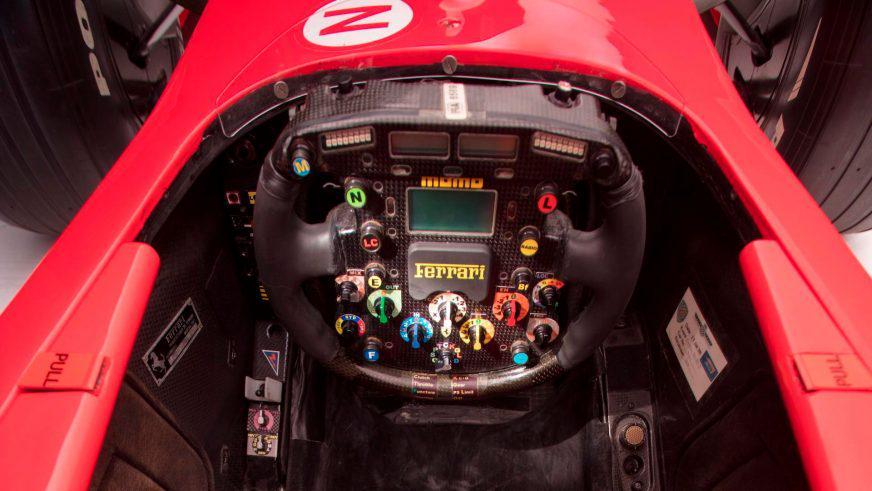 Ferrari F2001 Шумахера выставили на продажу