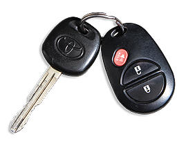 Toyota Tundra - 2007 - ключ