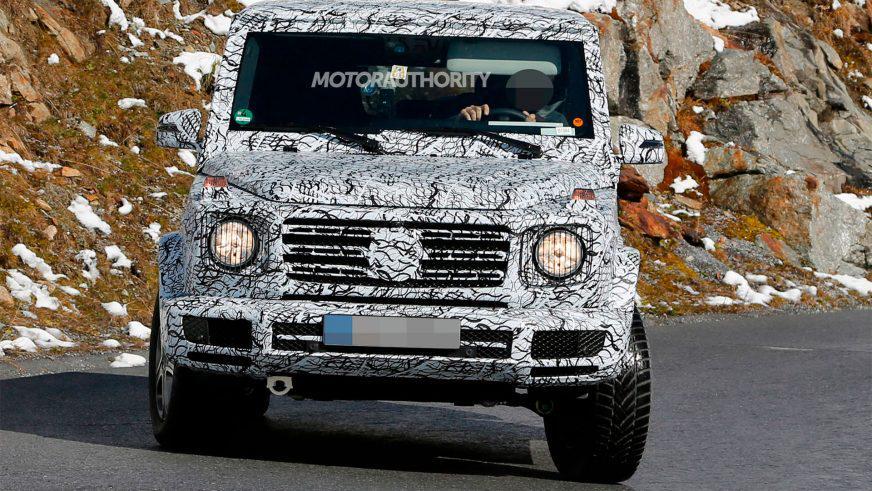 Новое поколение Mercedes-Benz G-Class