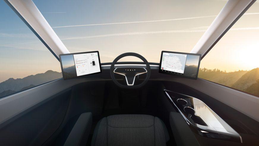 Tesla представила электрический тягач