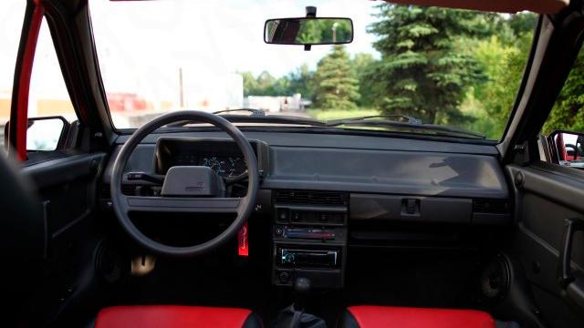 Редкий ВАЗ-2108 в кузове кабриолет