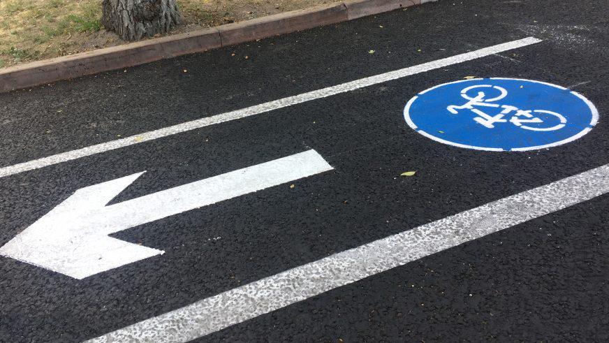 Велосипедная полоса движения
