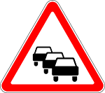 Знак 1.34 «Затор»