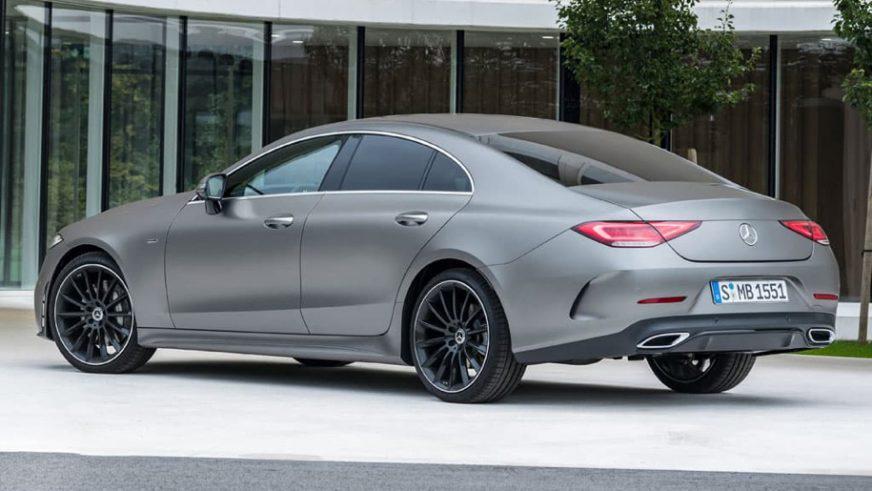 Раскрыта внешность нового Mercedes-Benz CLS