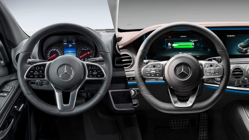 Mercedes-Benz показал салон нового Sprinter