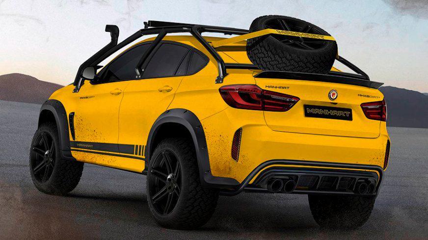 BMW X6 MHX6 Dirt²