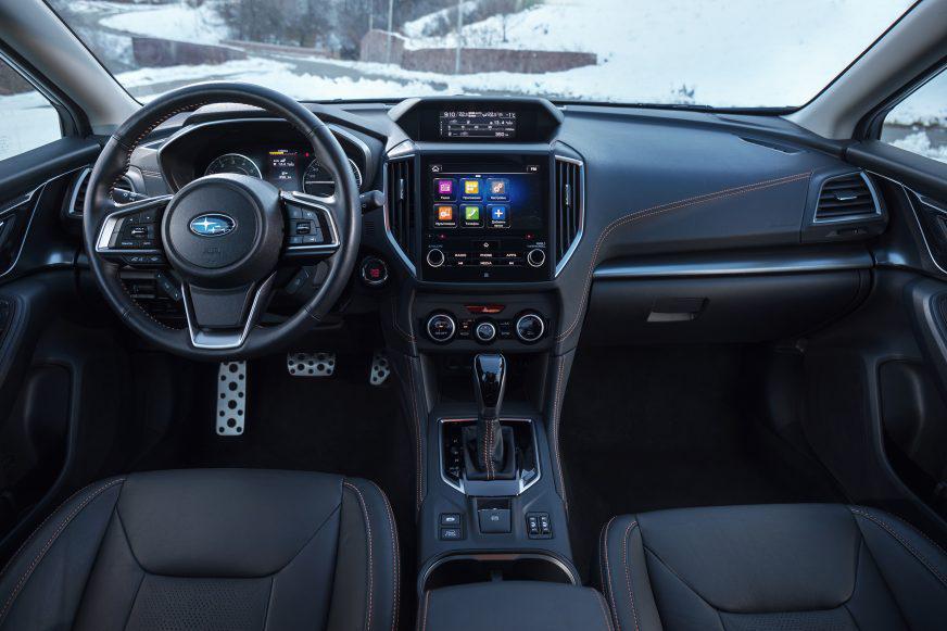 Subaru XV - 2017 - салон