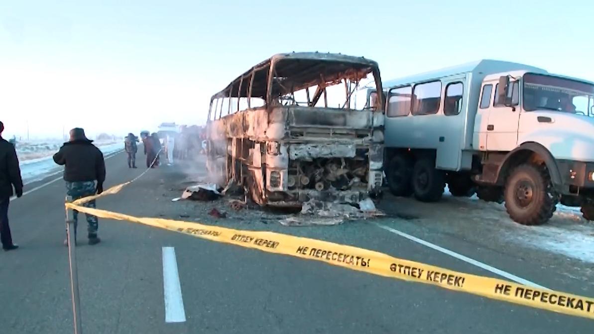 Автобус, в котором погибло 52 человека, был неисправен