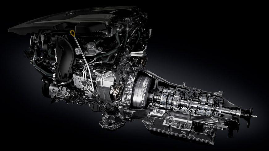 Lexus LS 500 - 2017 - двигатель