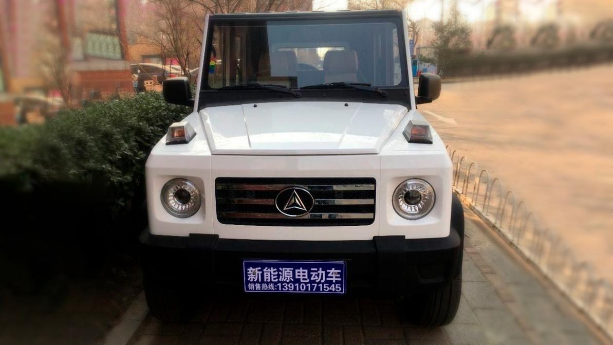 В Китае создали бюджетный G-Class. Очень бюджетный